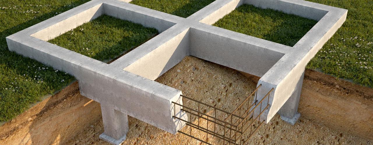 Как сделать фундамент своими руками под дом из пеноблоков